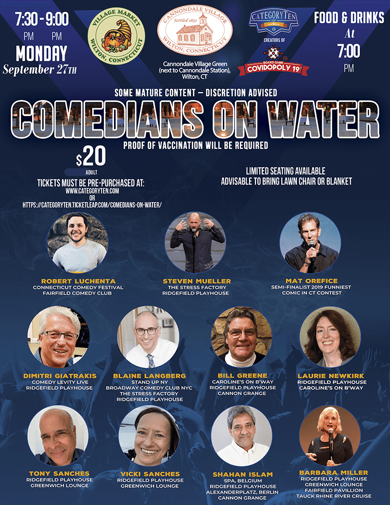comedians on water